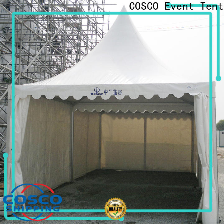 COSCO tent white gazebo long-term-use for engineering