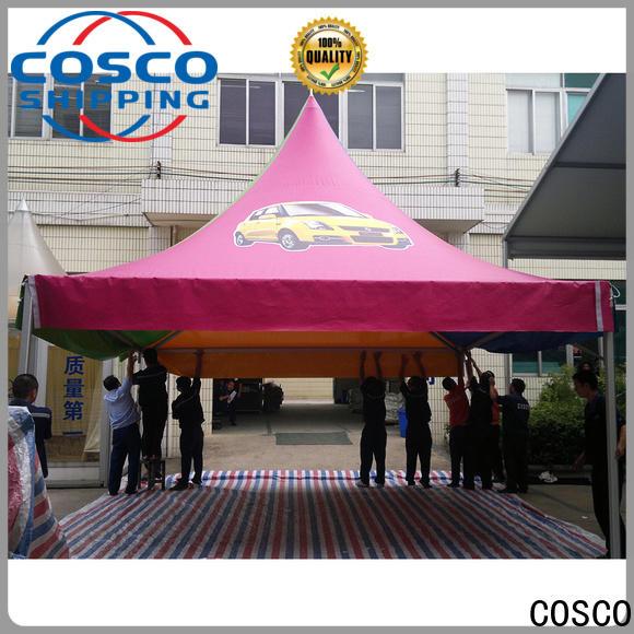 COSCO exhibition 3x3 gazebo vendor dustproof