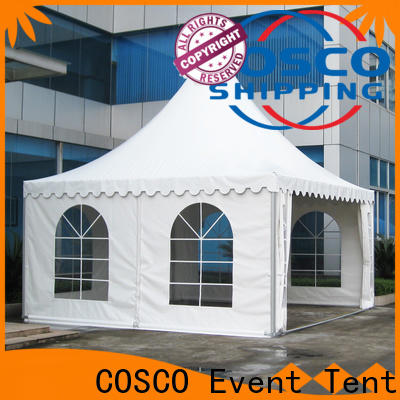 COSCO event gazebo canopy certifications snow-prevention