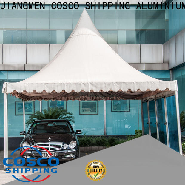 COSCO first-rate gazebo canopy vendor for disaster Relief