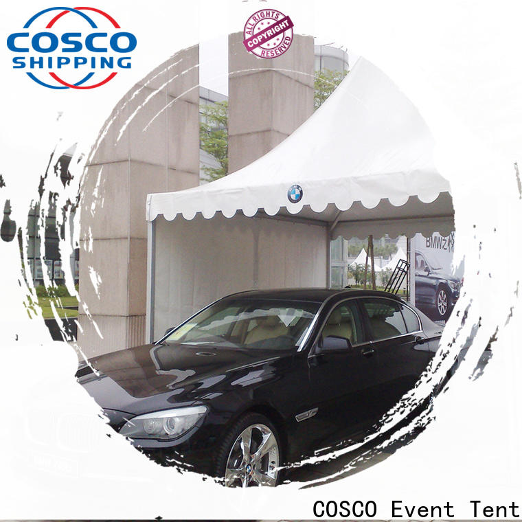 COSCO from gazebo with sides for disaster Relief