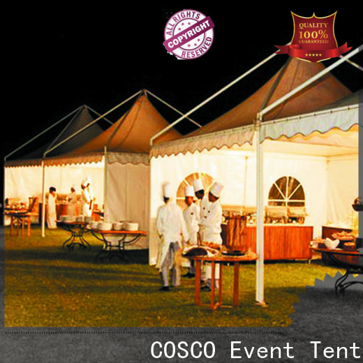 COSCO 5x5m gazebo kits widely-use rain-proof