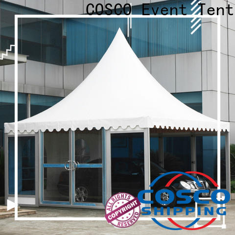 outdoor large gazebo 6x6m cold-proof
