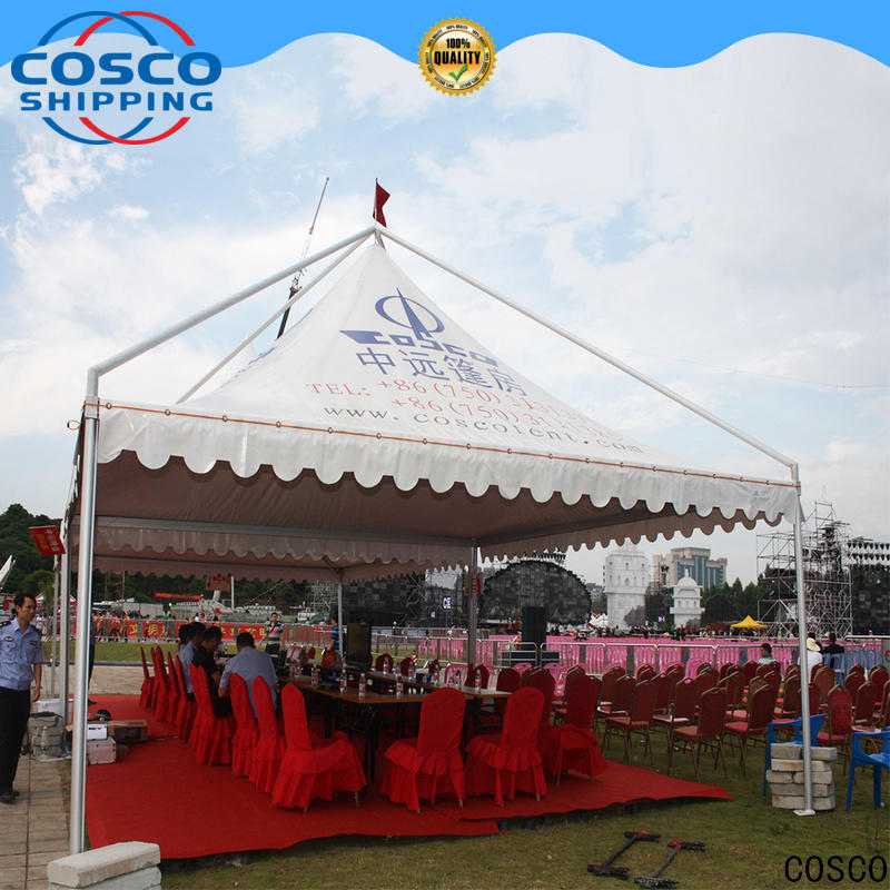 COSCO tent screened gazebo certifications cold-proof
