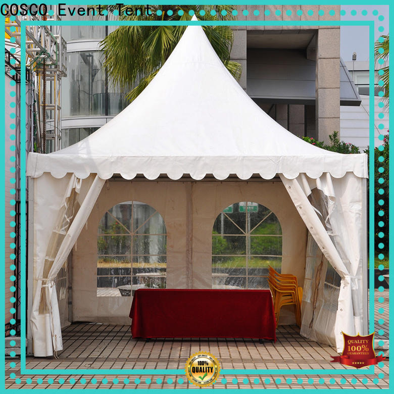 COSCO event gazebo covers for disaster Relief
