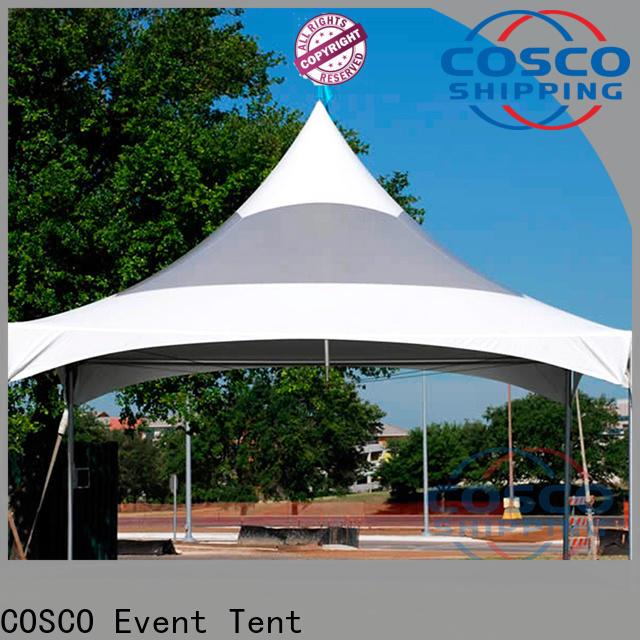 COSCO event steel gazebo effectively
