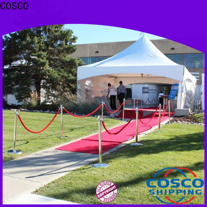 COSCO marquee tent sale supplier for wedding