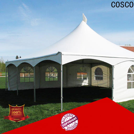 COSCO canopy frame tent China factory