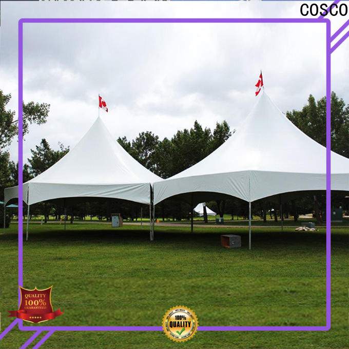 COSCO frame frame tent rental experts snow-prevention