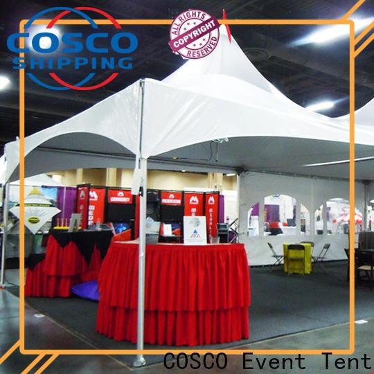 COSCO durable commercial tents dustproof