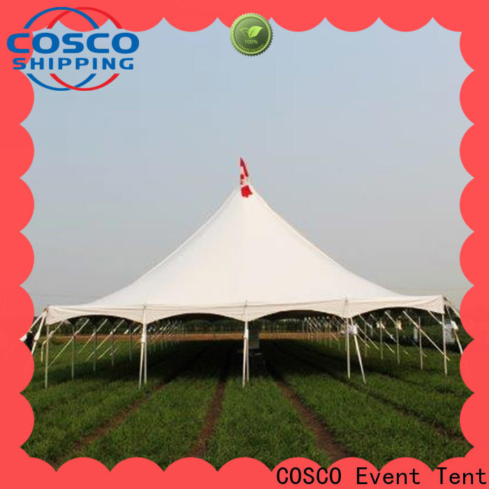 COSCO tent peg and pole tent China foradvertising