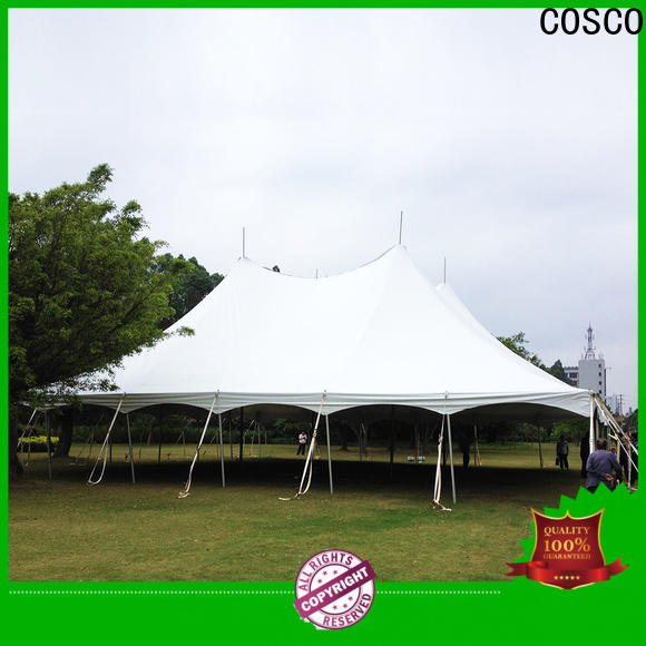 COSCO newly instant tent certifications