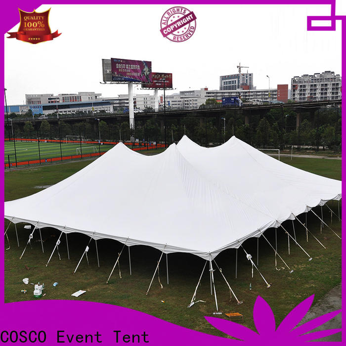 COSCO splendid car tents China for engineering