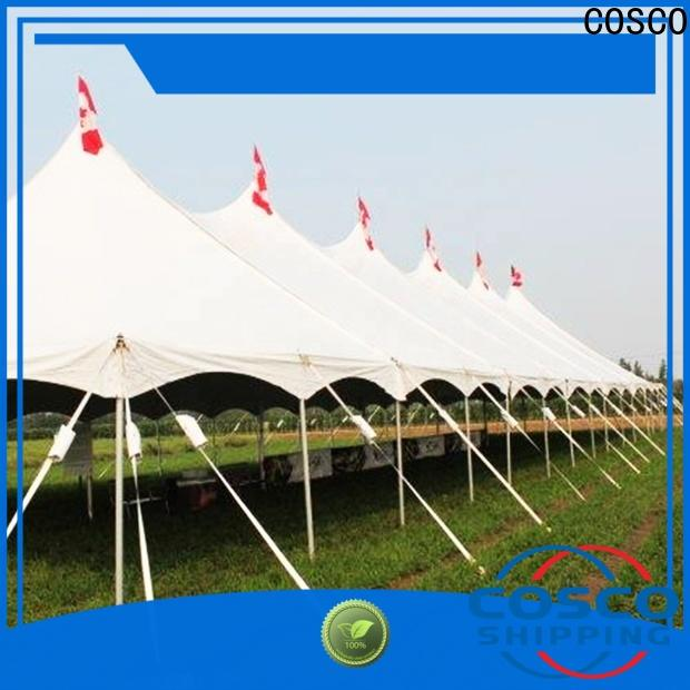 COSCO outdoor cheap camping tents producer for disaster Relief