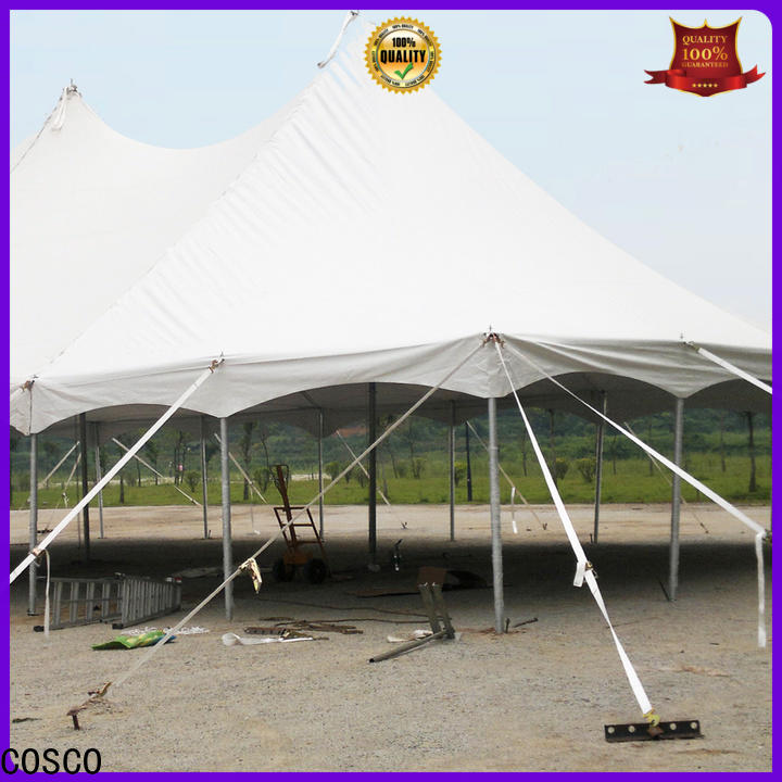 COSCO splendid event tents for sale in-green for engineering