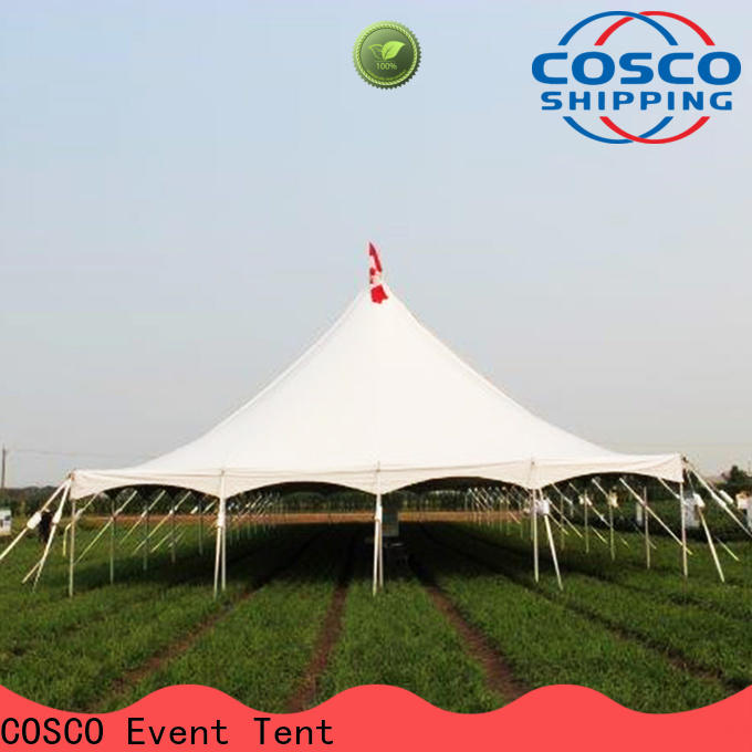 COSCO peg party tents for sale in-green for holiday
