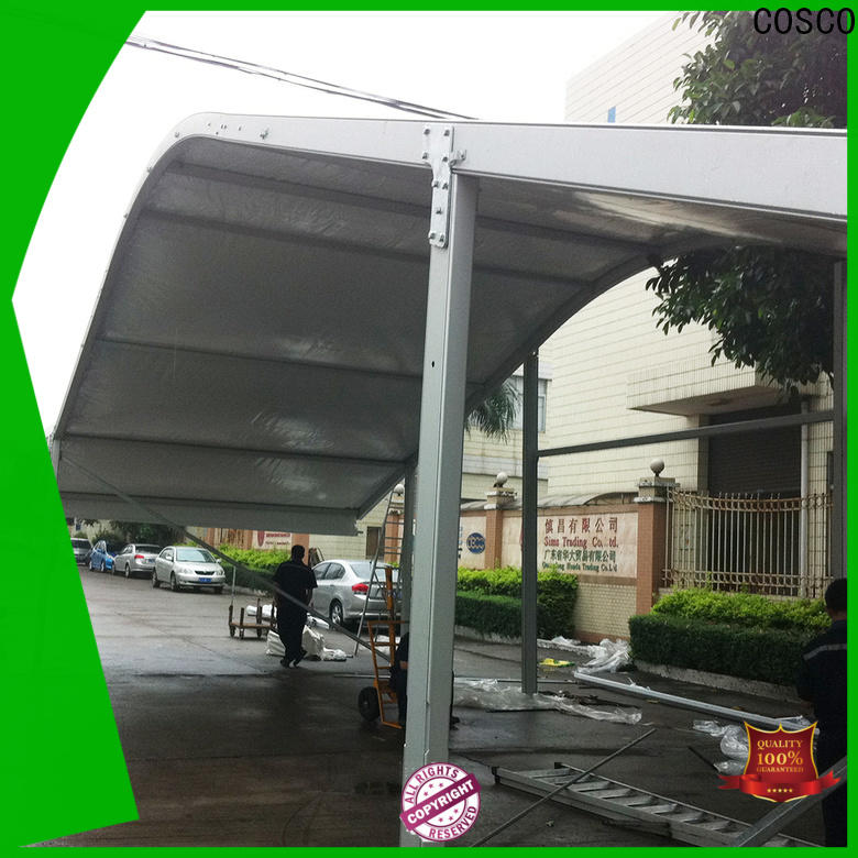 COSCO modular arcum tent