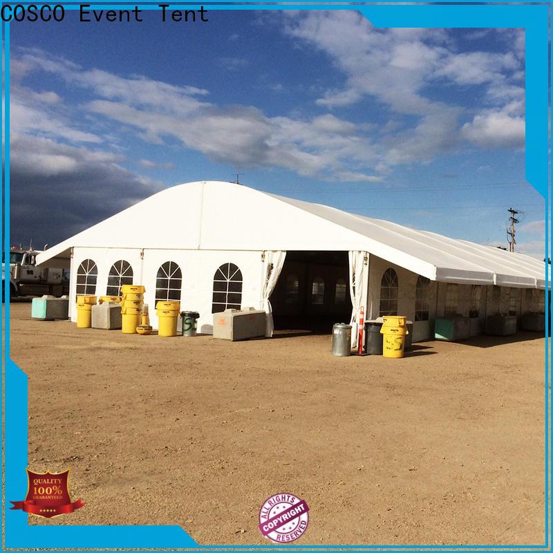 COSCO scientific marquee tents prices wholesale snow-prevention