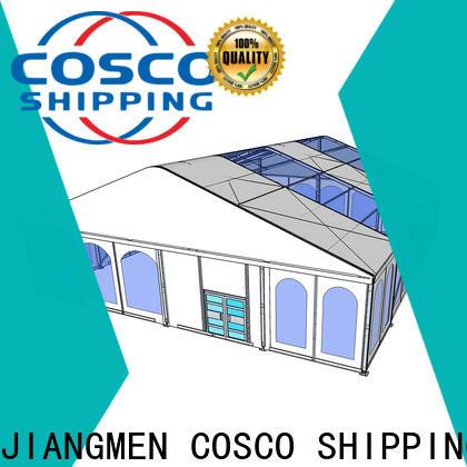 COSCO elegant aluminium tent supplier dustproof