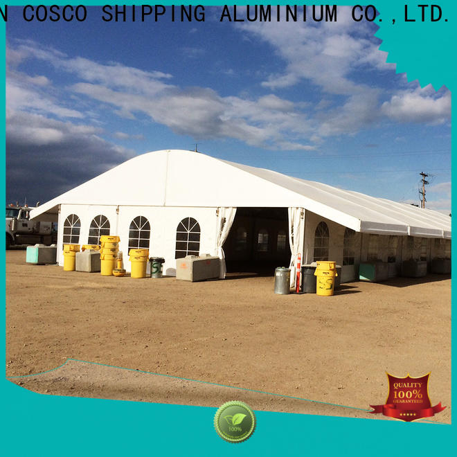 COSCO outstanding marquee tents prices factory anti-mosquito