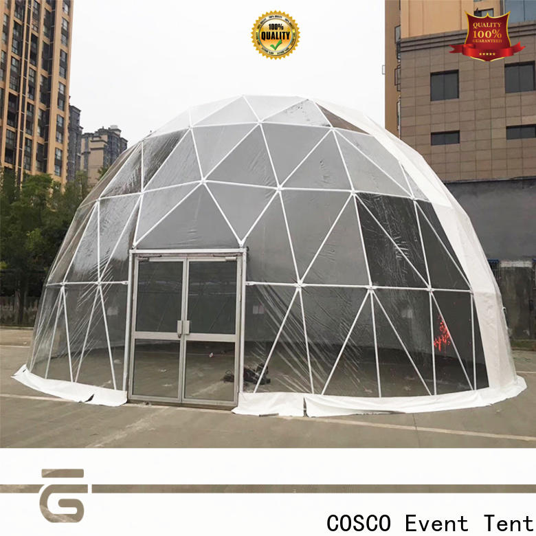 COSCO available geodesic dome tent popular for holiday