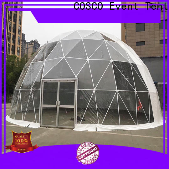 structure geodesic dome tents tent long-term-use for disaster Relief