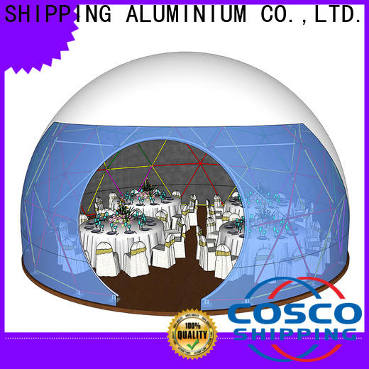 COSCO diamrter dome tent experts snow-prevention