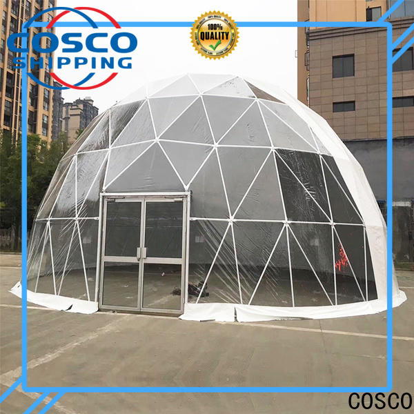COSCO polygon event tents for sale China for disaster Relief