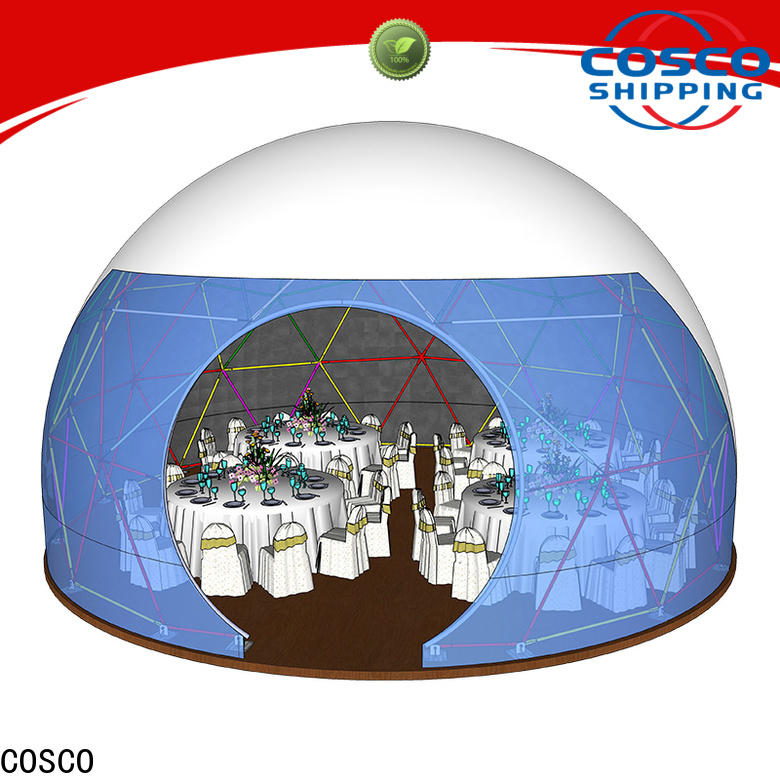 COSCO event dome tent experts for engineering