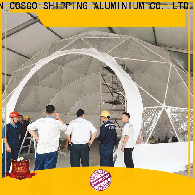 COSCO wedding geodesic dome tent popular rain-proof