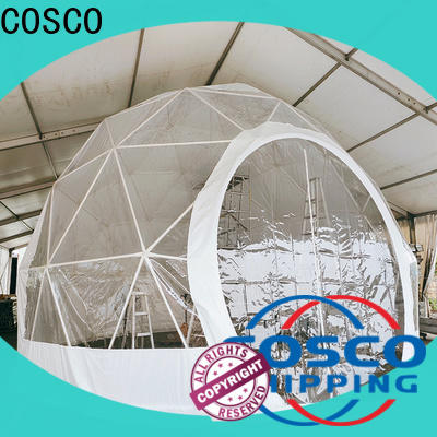 COSCO event geodesic dome tents experts rain-proof