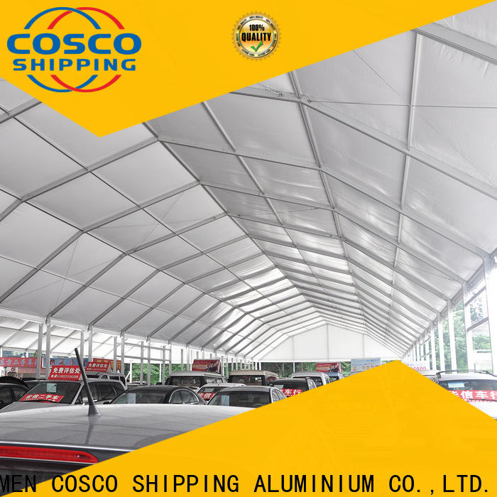 COSCO structure outdoor party tents in different shape