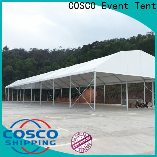 COSCO big tents in different shape snow-prevention
