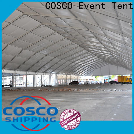 COSCO high-energy event tent rental producer for event