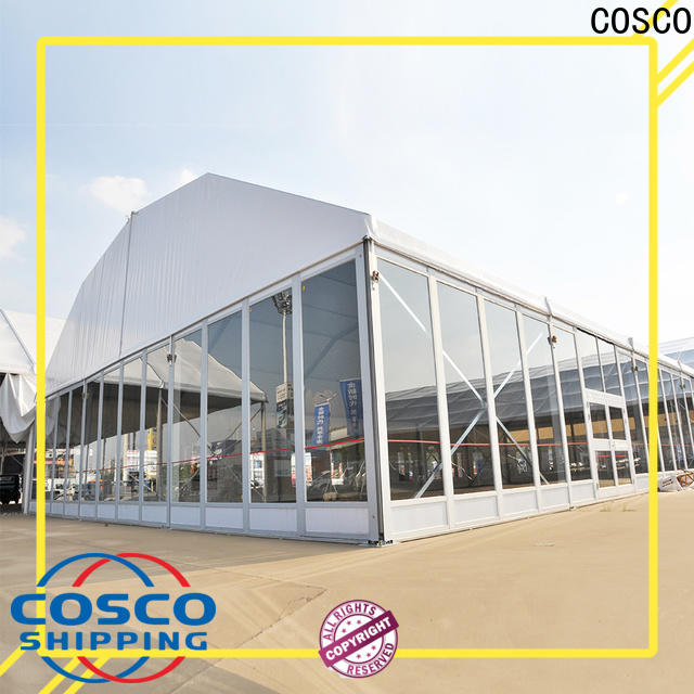 COSCO structure frame tent supplier cold-proof