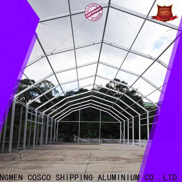 COSCO marquee tent rental prices supply anti-mosquito