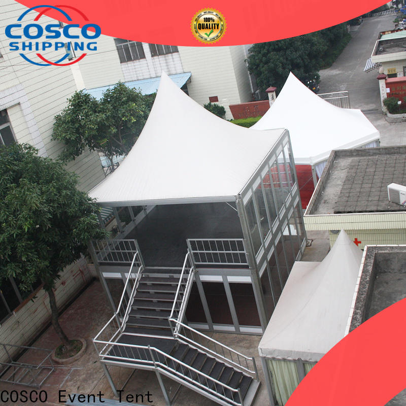 COSCO polygon military tents for sale foradvertising