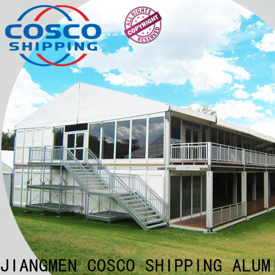 COSCO frame event tent supplier for holiday