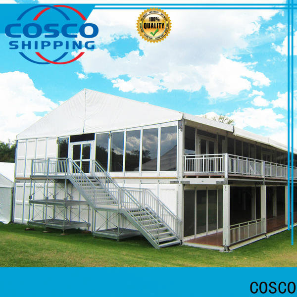 COSCO structure large tents supplier grassland