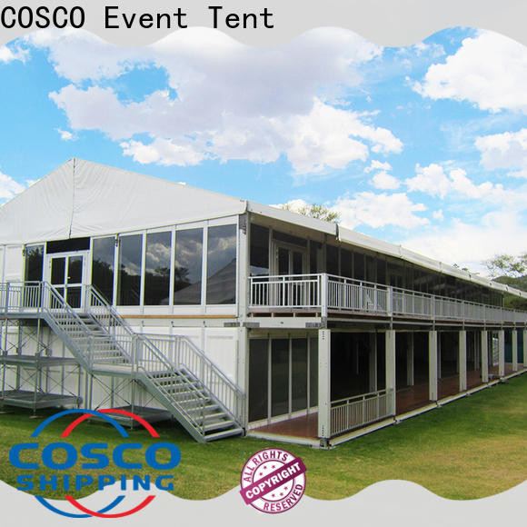COSCO decker big tents cost