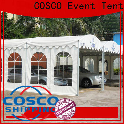COSCO nice high peak tent supplier Sandy land