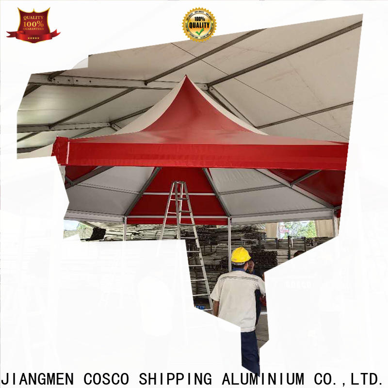 COSCO excellent high peak tent supplier cold-proof