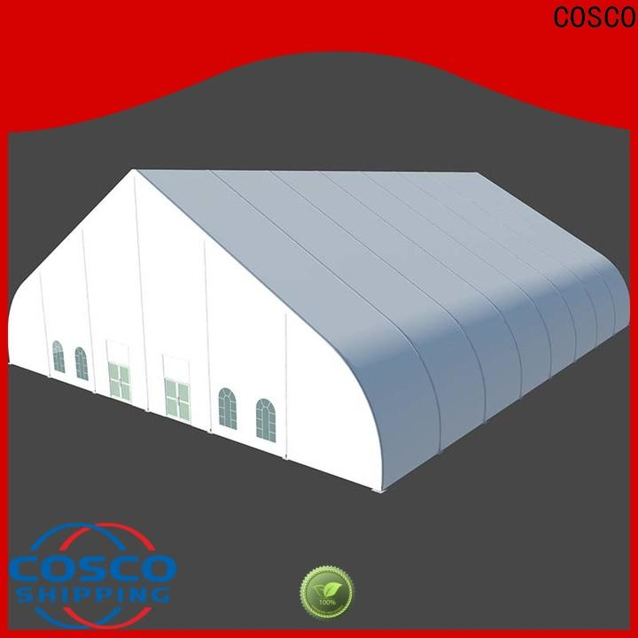 COSCO event tents for sale producer for disaster Relief