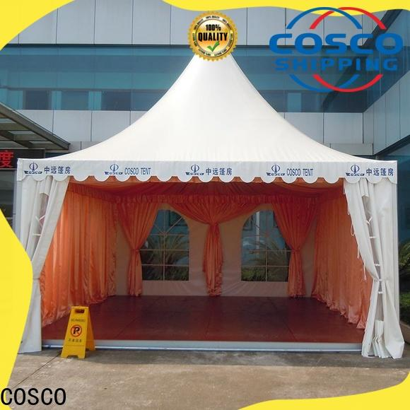COSCO tent gazebo canopy certifications factory