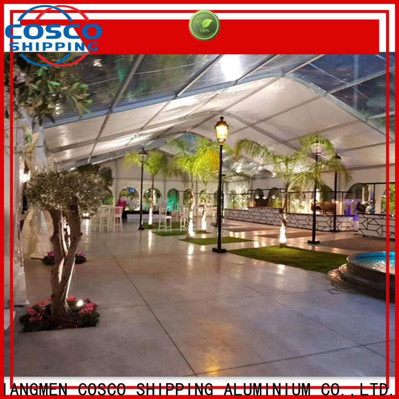 new-arrival pvc tent wedding in different shape dustproof