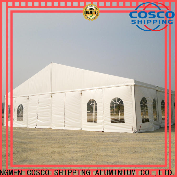 COSCO commercial shade tent supplier Sandy land