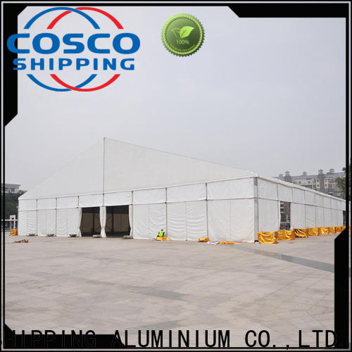 COSCO aluminium commercial tents experts for engineering
