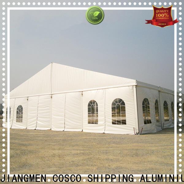 COSCO structure pole tents for sale owner grassland