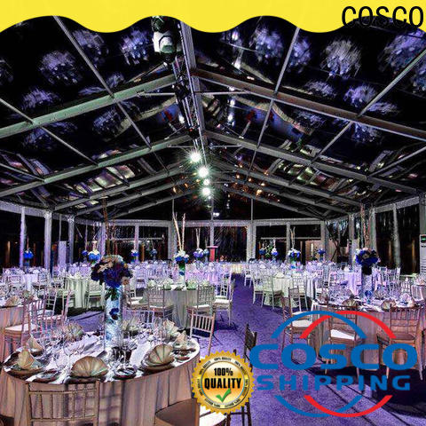 COSCO event large party tents for sale Sandy land