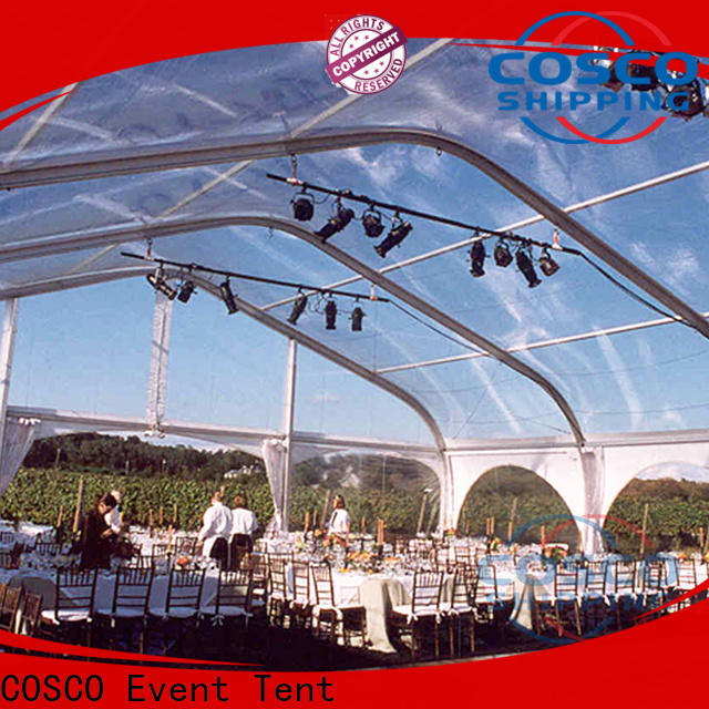 COSCO exhibition outdoor party tents Sandy land